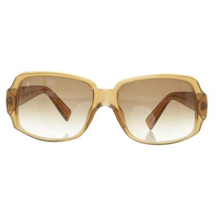 Louis Vuitton Sonnenbrille in Beige