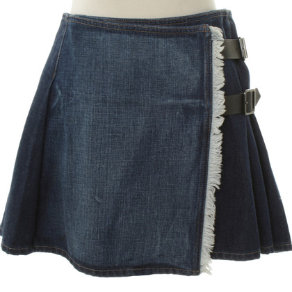 Burberry Mini skirt with pleats wrapping