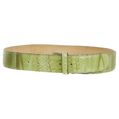 Reptile's House Belt Green