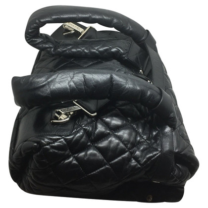 Chanel Cocoon bag in black leather