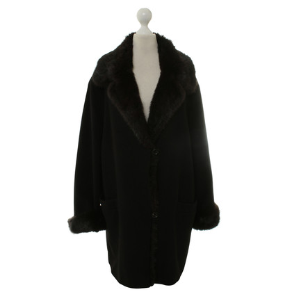 Basler Coat with fur trim