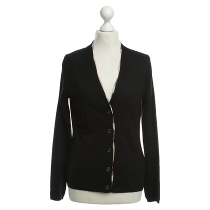 Burberry Wool Cardigan with piping