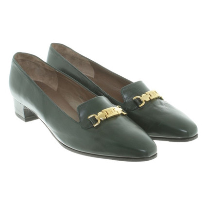 Bally pumps leather