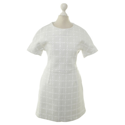 Alexander Wang T-Shirt dress with checked pattern