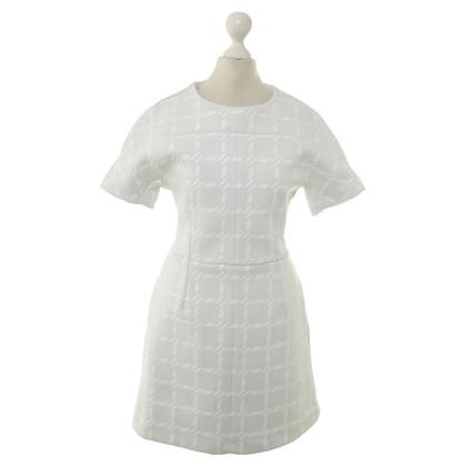Alexander Wang T-Shirt jurk met ingecheckte patroon