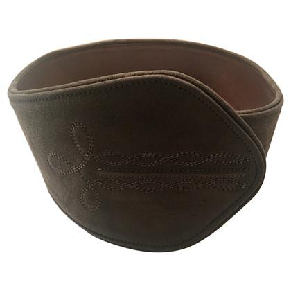Loewe Cintura in pelle scamosciata