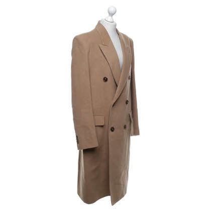 Maison Martin Margiela Camel hair coat