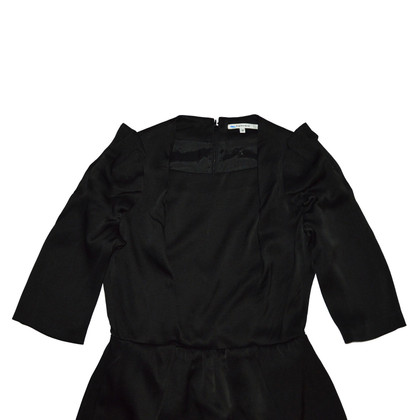 Carven Asymmetrical silk dress