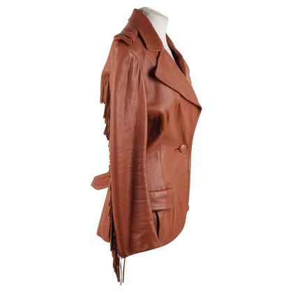 Lanvin giacca con frange