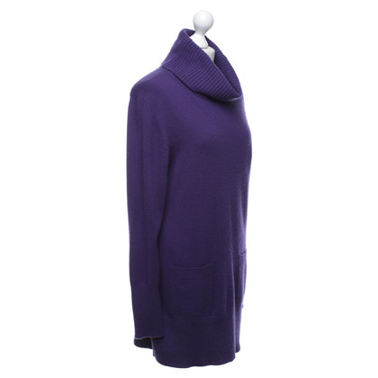 Repeat Cashmere Kaschmir-Kleid in Violett
