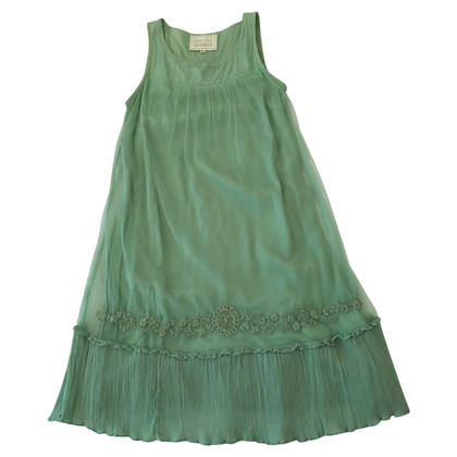 Noa Noa Light Green Chiffon Dress
