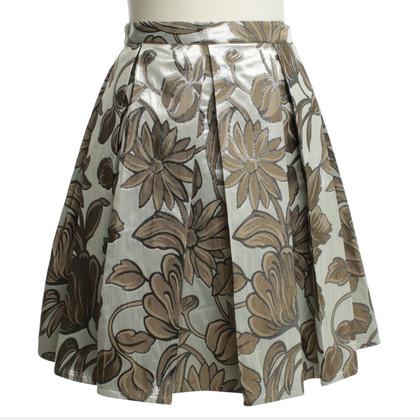 Andere merken Hart zaak - rok met bloemmotief
