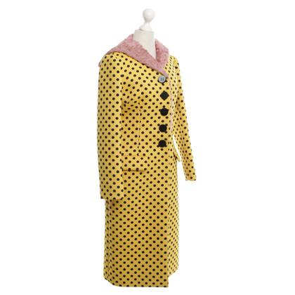 Miu Miu Coat met patronen