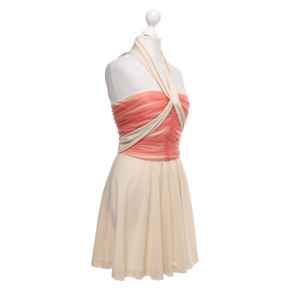 Balenciaga Mini-jurk in beige / oranje