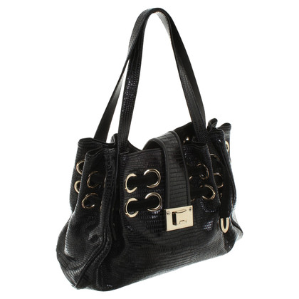 Jimmy Choo Handtas met patroon