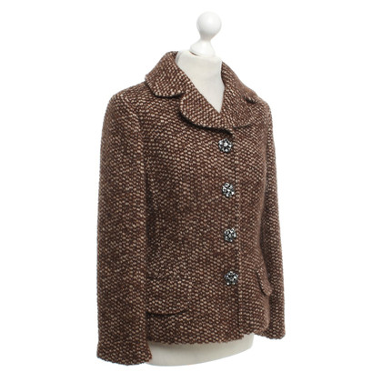 Dolce & Gabbana Tweed blazer in brown