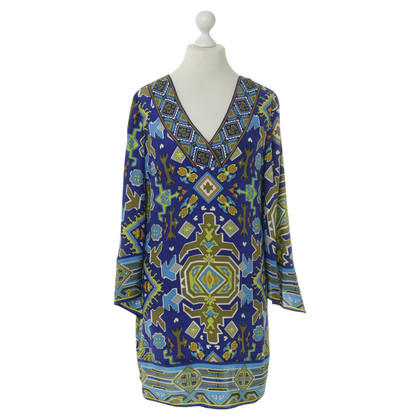 Alice &Trixie Tunic dress with green-blue pattern