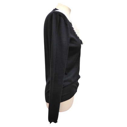 Christian Dior Cashmere jacket with application