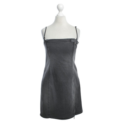 Armani Jeans Dark gray dress with wash
