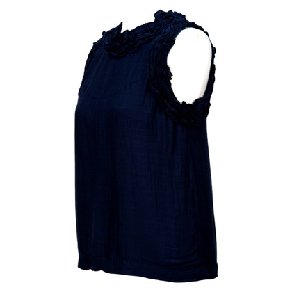 French Connection Blouse in Dark Blue