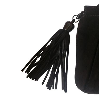 Coccinelle Brown suede handbag