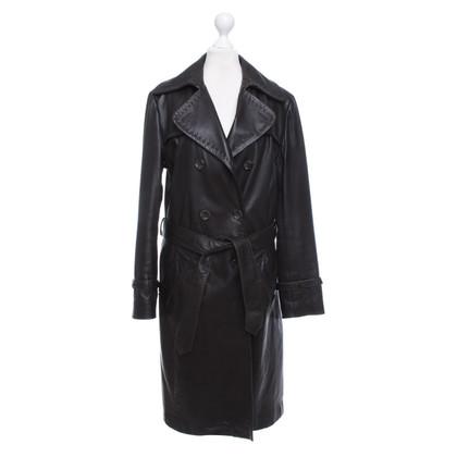 Arma Mantel aus Lammleder
