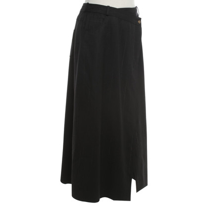 Christian Dior skirt with pinstripe