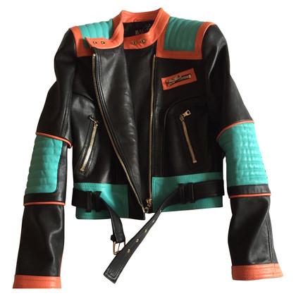 Balmain giacca di pelle