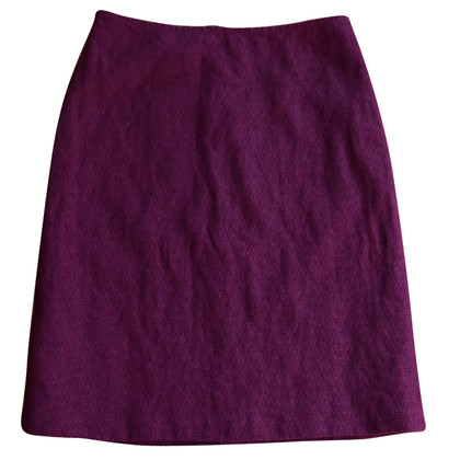 Dries van Noten Tweed skirt in Fuchsia