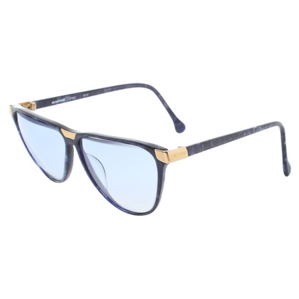 Jil Sander Glasses in Blue/Heather