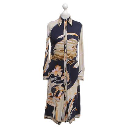 Leonard Kleid mit floralem Print