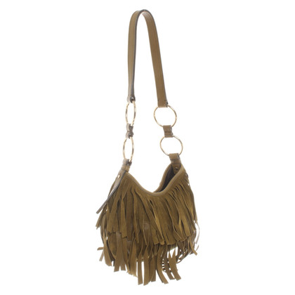 Yves Saint Laurent Small bag with fringes