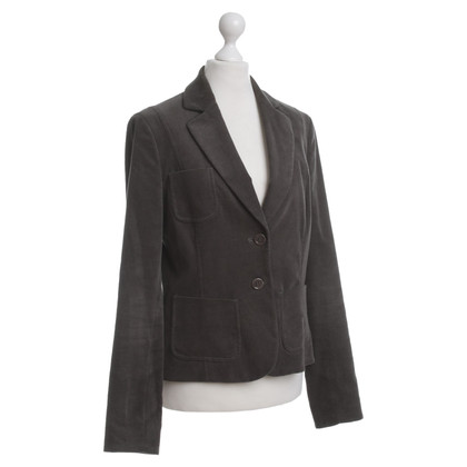 Hugo Boss Cord-Blazer in Braun-Grau