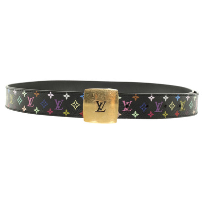 Louis Vuitton Belt from Monogram Multicolore Canvas