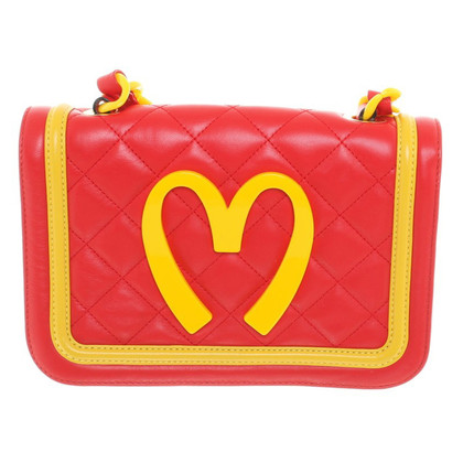 Moschino Shoulder bag in red / yellow