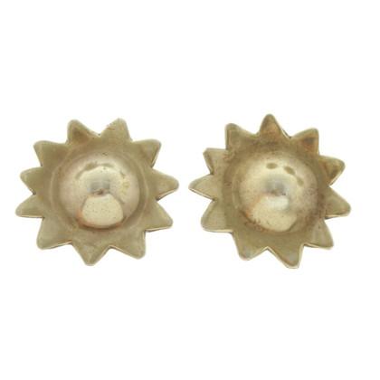 Cada clip orecchio con motivo sole