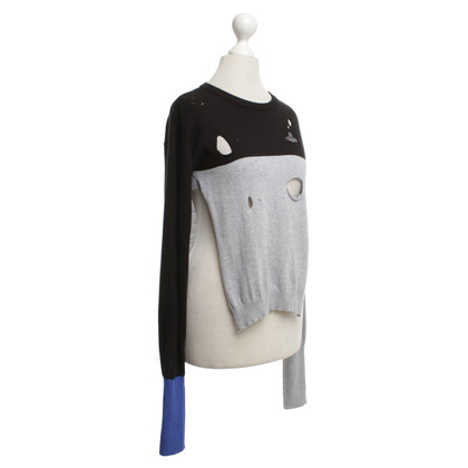 Vivienne Westwood Knitted pullover in a distroyed look