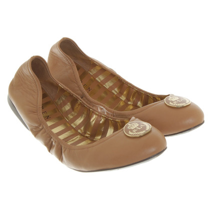 Ralph Lauren Ballerinas in light brown