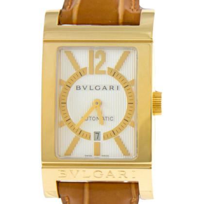 "Bulgari ""Rettangolo Automatic 750er Gold"""