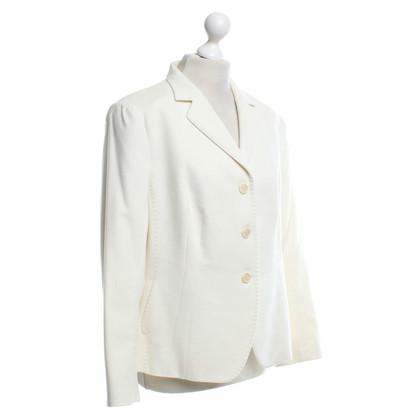 Windsor Lana giacca in crema