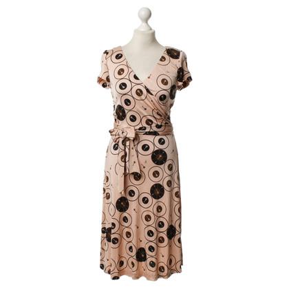 Issa zijden jurk in Rosé/nude