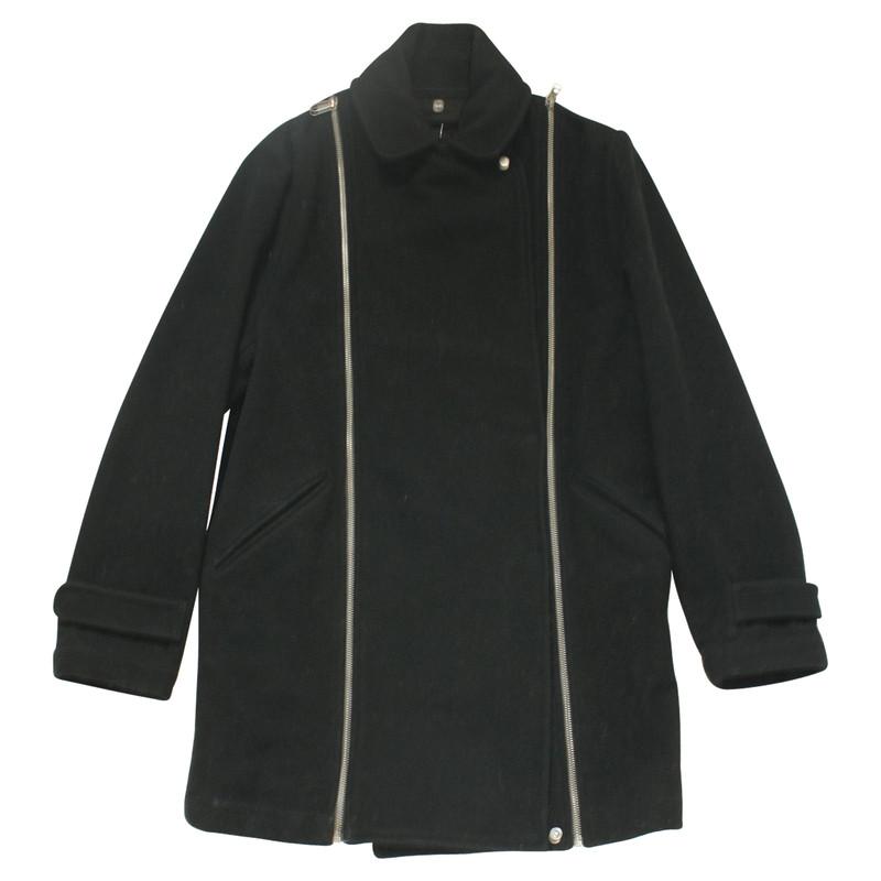Mantel schwarz c&a