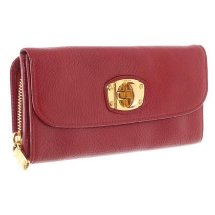 Miu Miu Wallet in red
