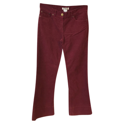Chloé trousers in Bordeaux