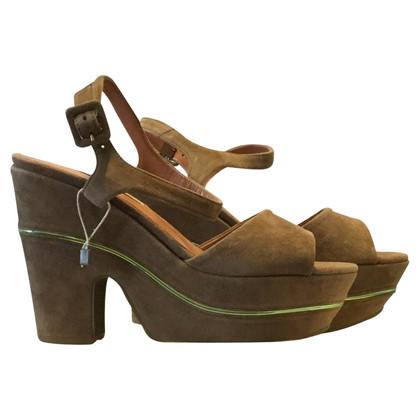L'autre Chose Suede sandals L'AUTRE CHOSE