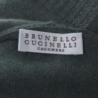 Brunello Cucinelli pulls en cachemire en vert