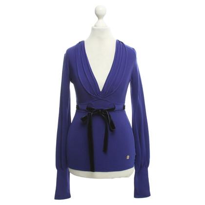 Roberto Cavalli Sweater in purple
