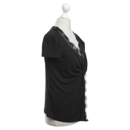 D&G Top-Shirt in black