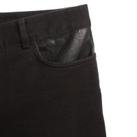 T by Alexander Wang Shorts con finiture in pelle