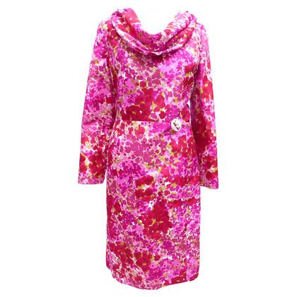 Christian Dior Silk dress with Flowerprint